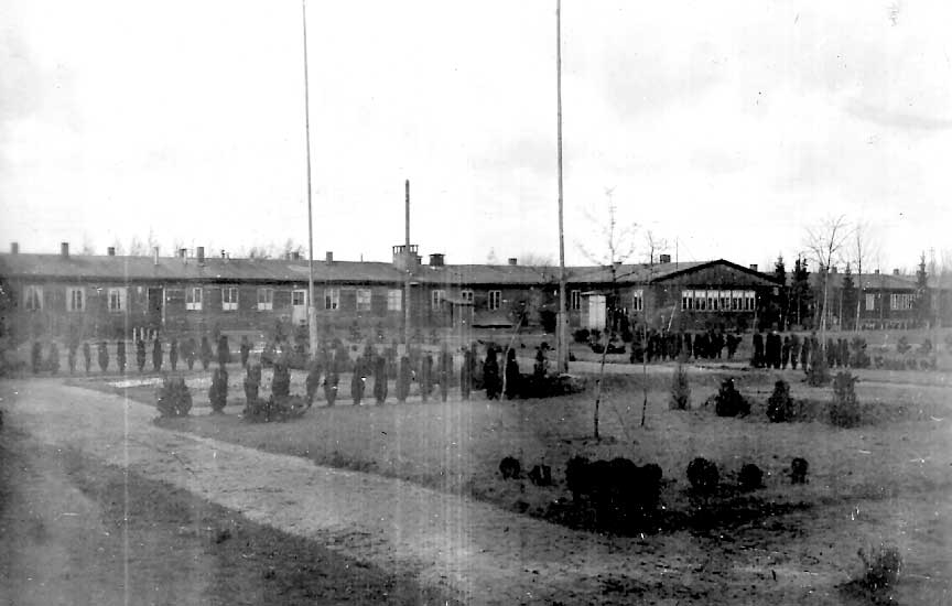 Wehnen camp building