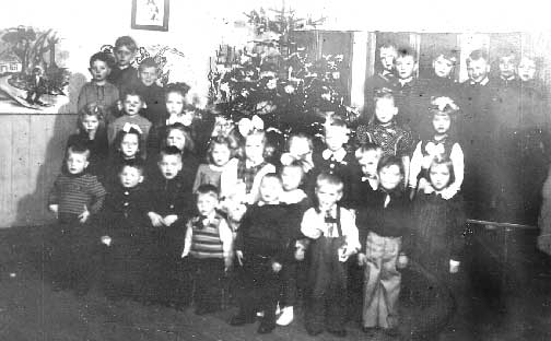 Kindergarten at Christmas