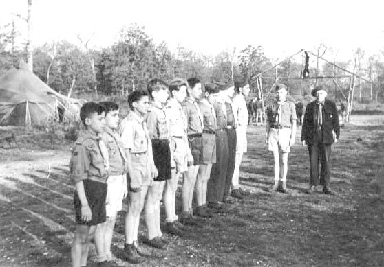 Boys scouts at Schleisheim B