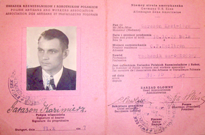 Polish Workers Association permit